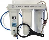 Фильтр для воды под мойку на кухне с трех-стадийной фильтрацией(Графеновый сорбент)