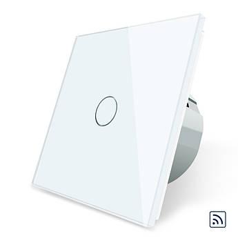 Сенсорный выключатель Livolo с функцией дистанционного управления, белый (VL-C701R-11)
