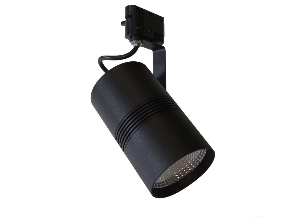 Светодиодный светильник трековый диммируемый SL-10 18W 4000K черный