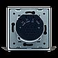 Сенсорный проходной маршевый перекрестный выключатель Livolo на 2 канала черный стекло (VL-C702S-12), фото 5