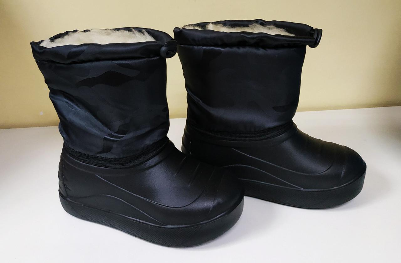 5d7a84e0b401 Ботинки Водонепроницаемые Утеплённые Детские (мальчик) на Меху. Размеры 28- 35 — в Категории