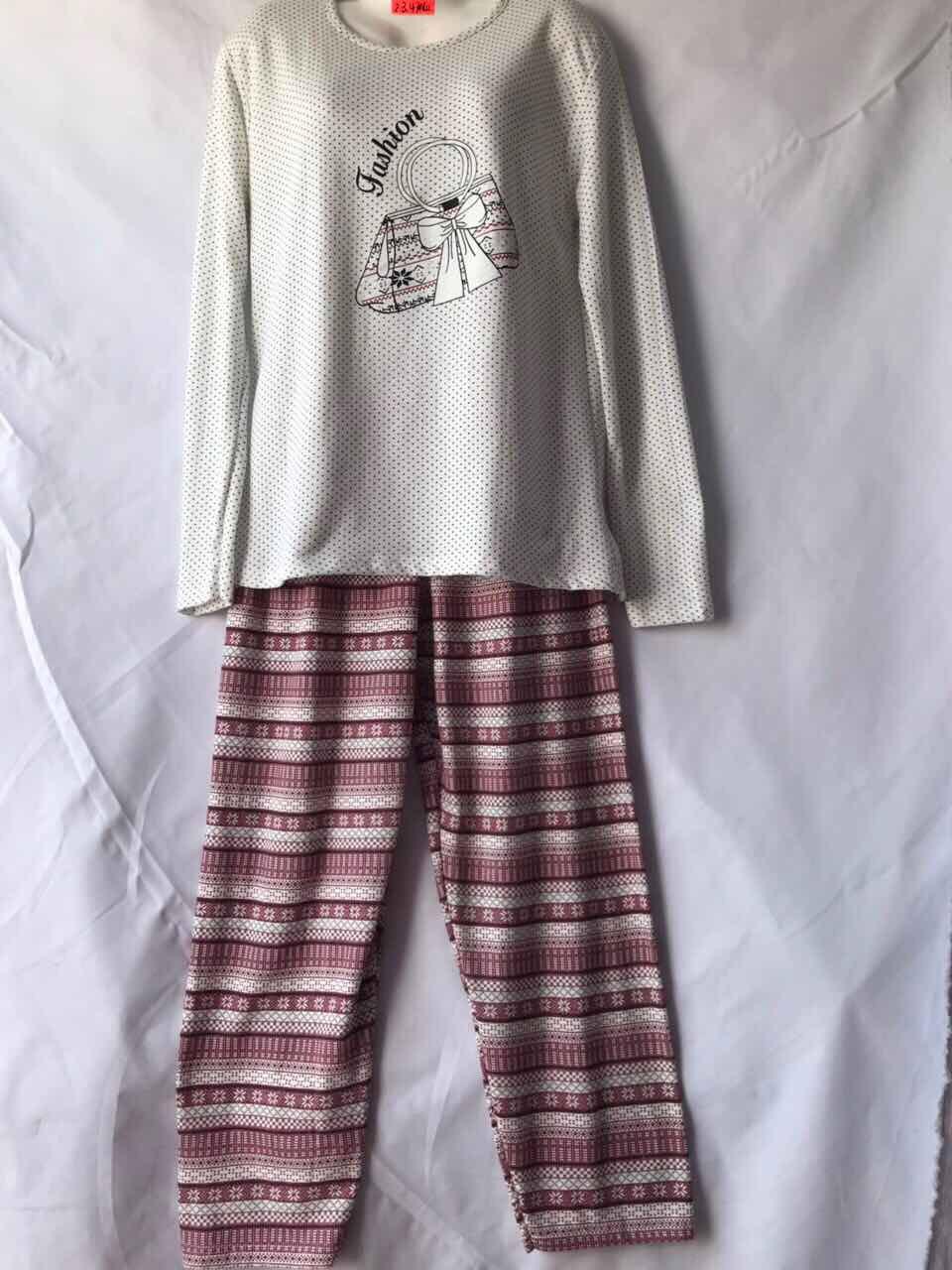 Женская пижама (тонкая байка) Батал оптом со склада в Одессе.