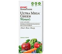 Витамины GNC  Ultra Mega Green Womens, 60 caps