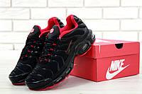 Кроссовки черные Nike Air Max TN Plus 32d85fde355b4