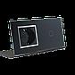 Сенсорный выключатель с розеткой Livolo, цвет черный, хром, стекло (VL-C701/C7C1EU-12C), фото 3