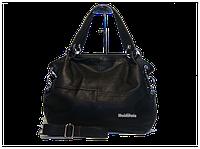 Женская стильная сумка WeidiPolo, Черная, Качественная реплика