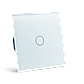 Сенсорный проходной выключатель Livolo с дистанционным управлением, цвет белый, стекло (VL-C701SR-11), фото 6