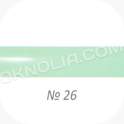 Горизонтальные жалюзи 25мм, № 26 зеленый