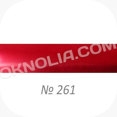 Горизонтальные жалюзи 25мм, № 261 бордовый