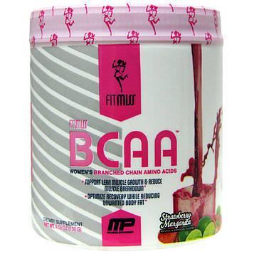 FitMiss, BCAA, женские аминокислоты с разветвленной цепью, клубничная маргарита, 5,6 унций (159г)