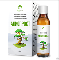 Препарат АлкоПрост - лечение алкоголизма за 30 дней, средство для лечения алкогольной зависимости, фото 1