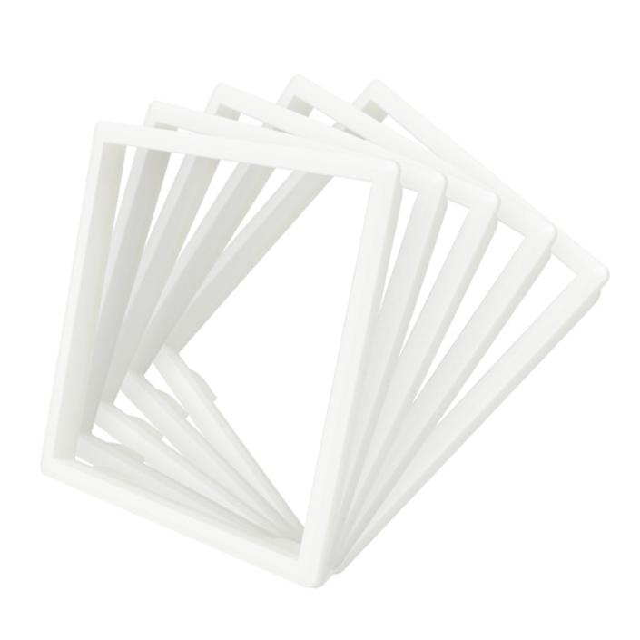 Ободок розетки Livolo набор 5 шт цвет белый (DF10-11)