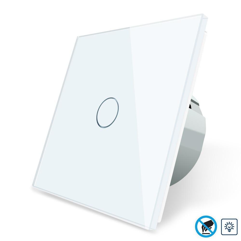 Бесконтактный диммер Livolo | цвет белый, материал стекло (VL-C701D-PRO-11)