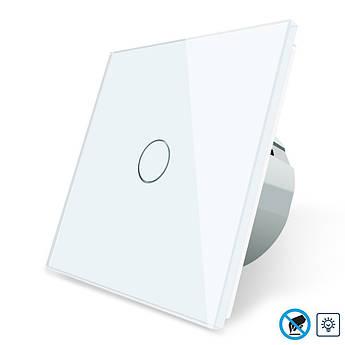 Бесконтактный диммер Livolo белый стекло (VL-C701D-PRO-11)