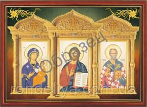 Схема для вышивки бисером «Триптих»
