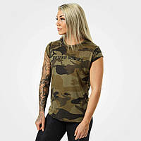 Футболка Astoria tee, Dark green camo