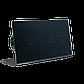 Сенсорный проходной выключатель Livolo на 3 канала 1+2, цвет черный, стекло (VL-C701S/C702S-12), фото 4