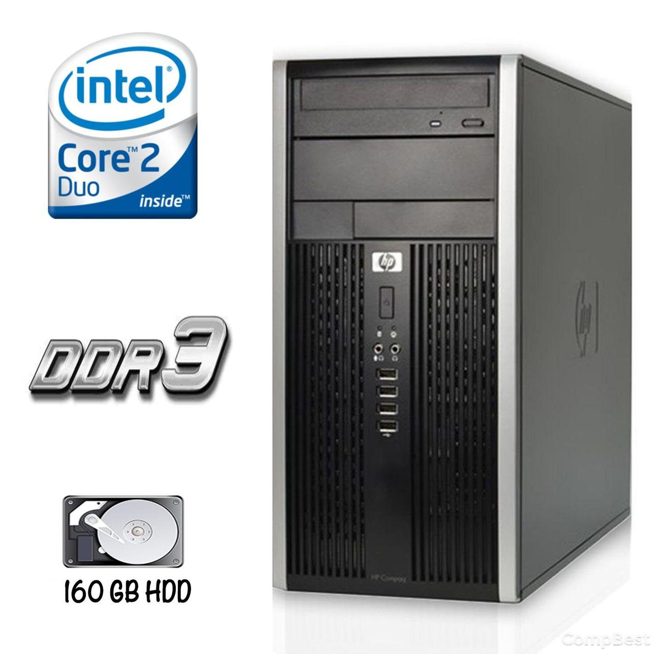 HP 6000 Pro SFF / Intel Core 2 Duo E7500 (2 ядра по 2.93GHz) / 4 GB DDR3 / 500 GB HDD