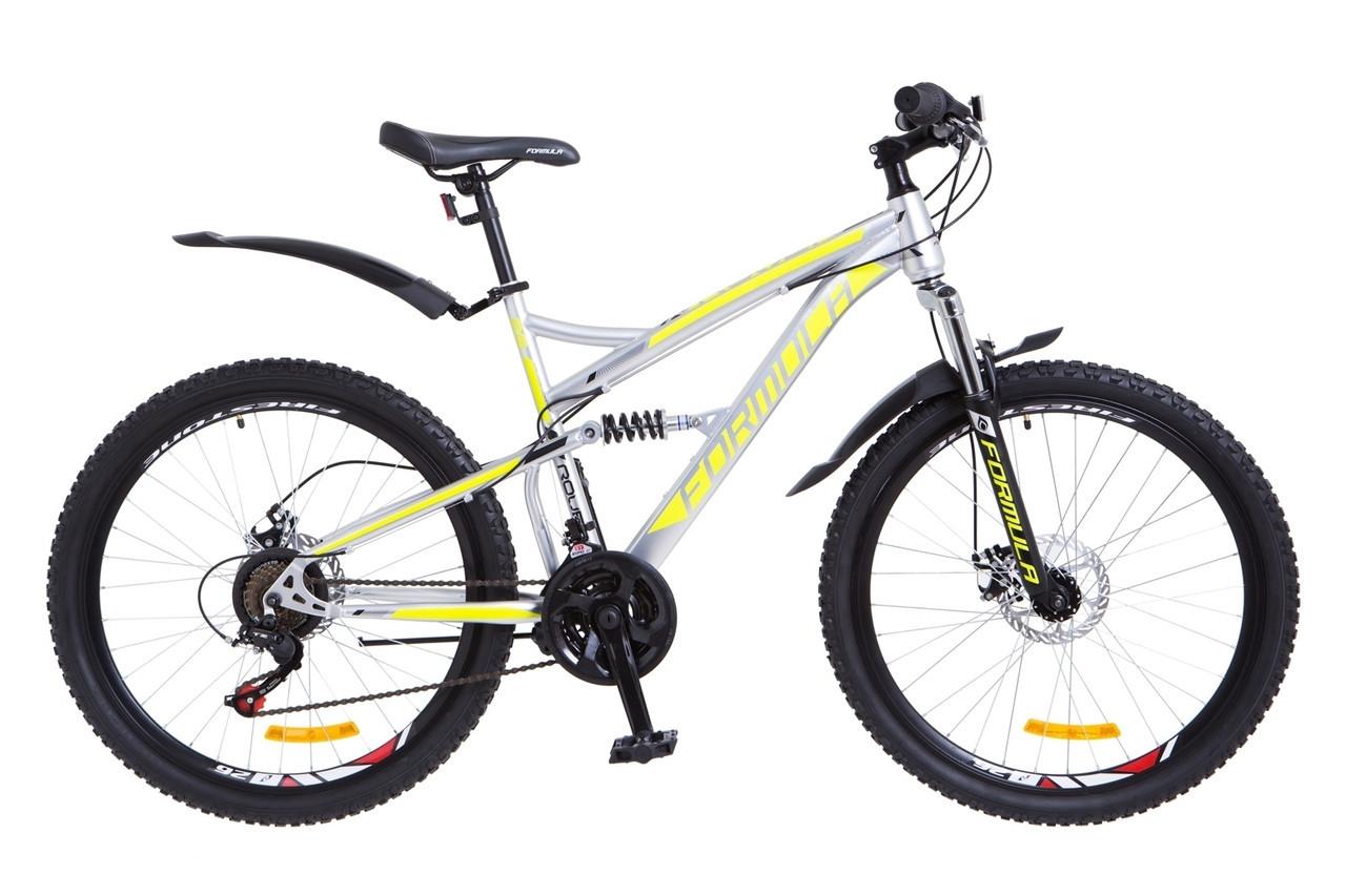 "Велосипед Formula X-ROVER  26"" Серо-желтый"