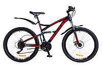 """Велосипед Formula X-ROVER  26"""" Черно-красный"""