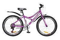 """Велосипед Discovery FLINT  24"""" Бело-фиолетовый, фото 1"""