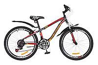 """Велосипед Discovery FLINT AM  24""""  Черно-оранжевый, фото 1"""
