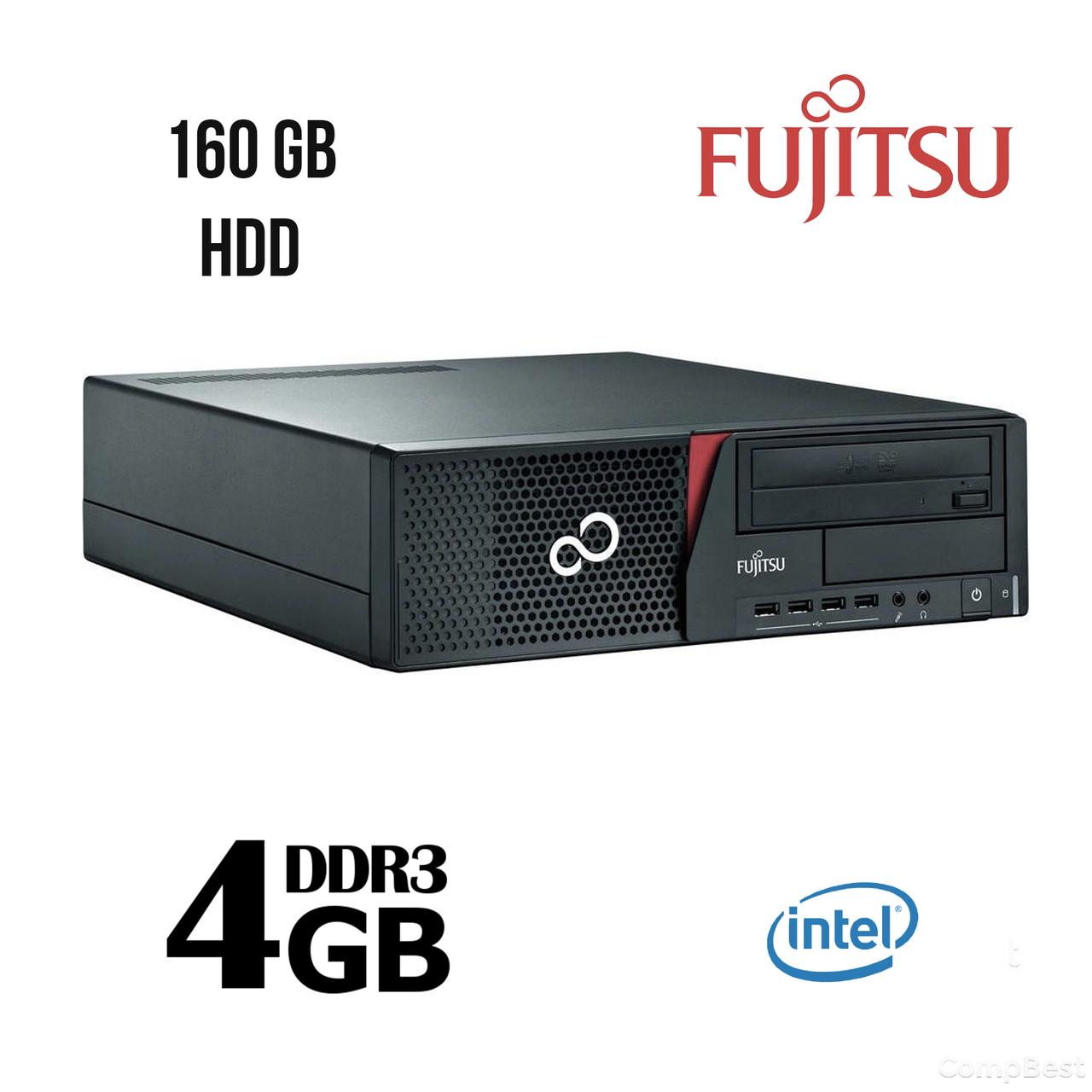 Fujitsu E700 SFF / Intel® Pentium® G840 (2(2) ядра по 2.8 GHz) / 4 GB DDR3 / 160 GB HDD