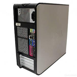 Dell 780 Tower / Intel Core 2 Duo E7500 (2 ядра по 2.93 GHz) / 4 GB DDR3 / 250 GB HDD, фото 2
