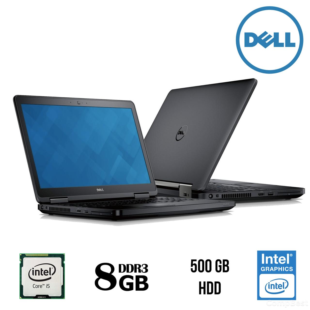 """Ноутбук Dell Latitude E5540 / 15.6"""" / Intel® Core™ i5-4200U (2(4) ядра по 1,60 - 2,60 GHz) / 8 Gb DDR3 / 500 Gb HDD / Intel HD Graphics 4400 / WEB"""