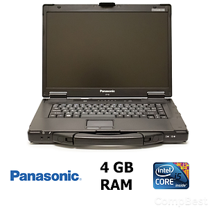 "Защищённый ноутбук Panasonic Toughbook CF-52 mk3 / 15.4"" / Intel® Core™ i5-520M (2 (4) ядра по 2.4 - 2.93 GHz) / 4GB DDR3 / 160GB HDD, фото 2"