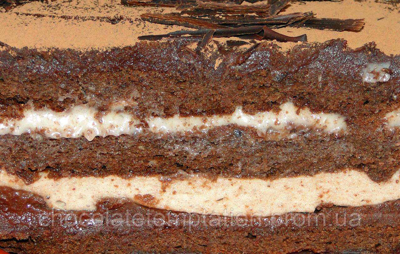 Торт шоколадно-финиковый Утреннее наслаждение
