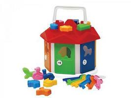 Куб разумный малыш Домик с ключиками
