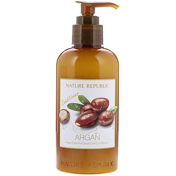 Nature Republic, Argan Essential Deep Care Conditioner, 10.13 fl oz (300 ml)