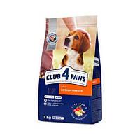 Клуб 4 лапы корм для собак средних пород, 14 кг