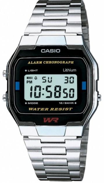Годинник чоловічий Casio A163WA-1QES