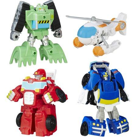 Трансформеры боты Playskool Heroes Transformers Rescue Bots Griffin Rock Rescue Team