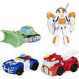 Трансформеры боты Playskool Heroes Transformers Rescue Bots Griffin Rock Rescue Team, фото 3