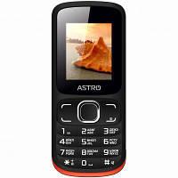 Мобильный телефон Astro A177 Black Red