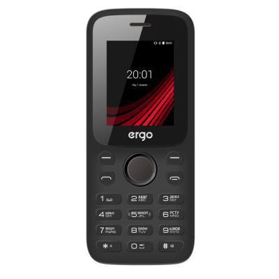 Мобильный телефон Ergo F182 Point Black