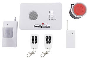 Охранная GSM сигнализация 10A для дома, квартиры, гаража