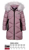 Куртка утепленная для девочек оптом, Glo-story, 110-160 см,  № GMA-6454, фото 1