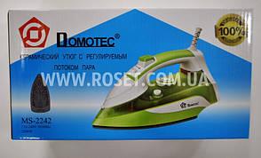 Утюг Керамический с регулируемым потоком пара - Domotec MS-2242 2200W