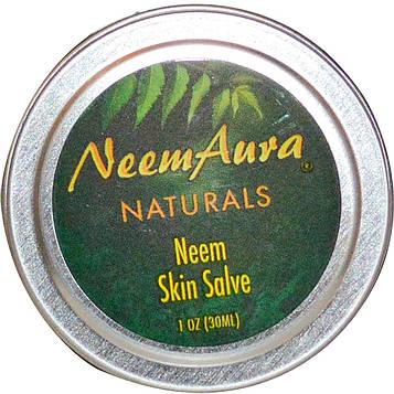 Neemaura Naturals Inc, Бальзам для кожи с нимом, 1 унция (30 мл)