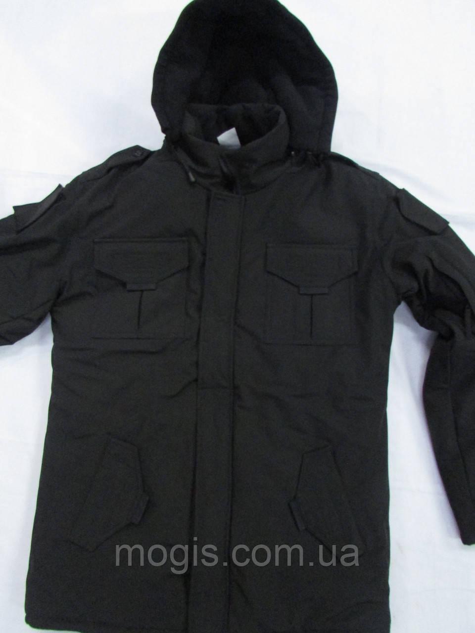 Куртка утепленная мод. Антитеррор(тк. Совтшел) черная