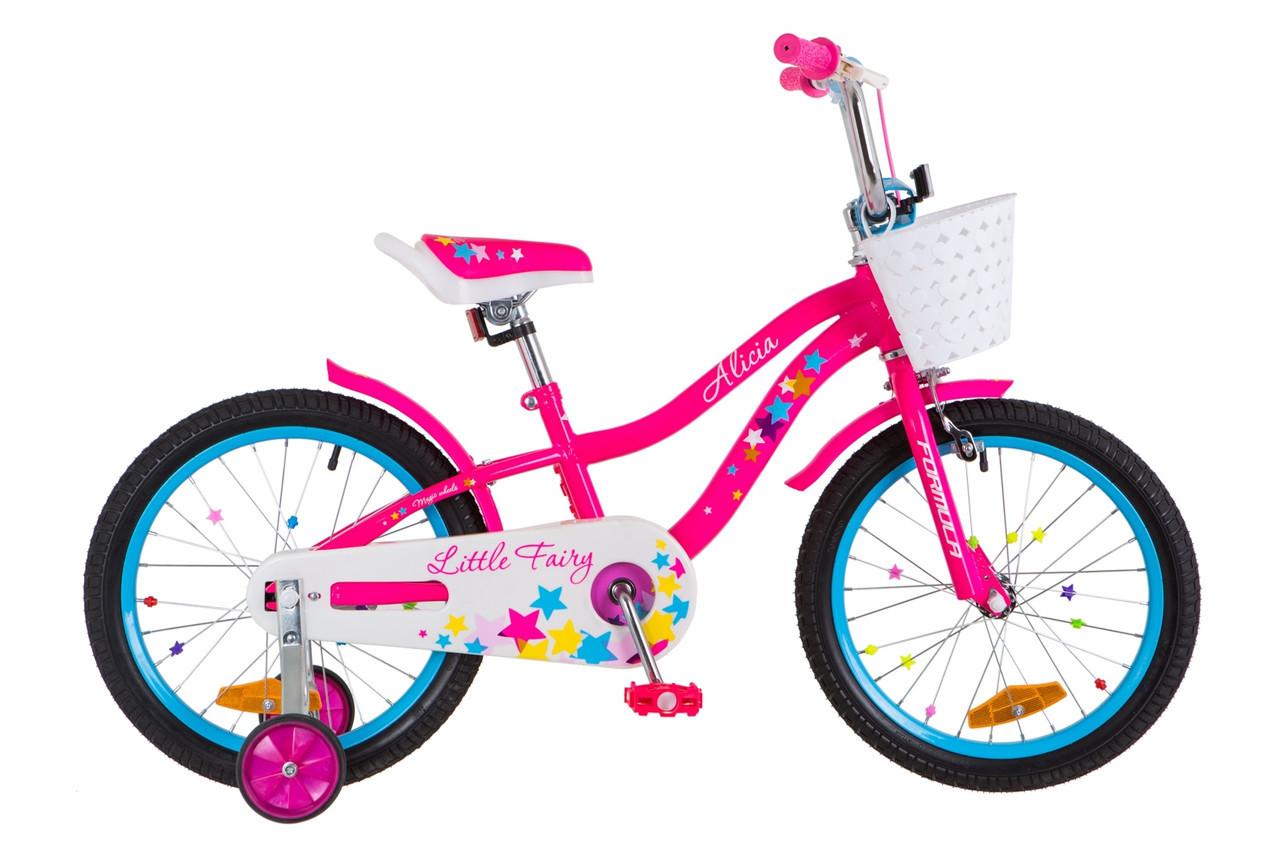 """Велосипед Formula ALICIA 18"""" розовый"""