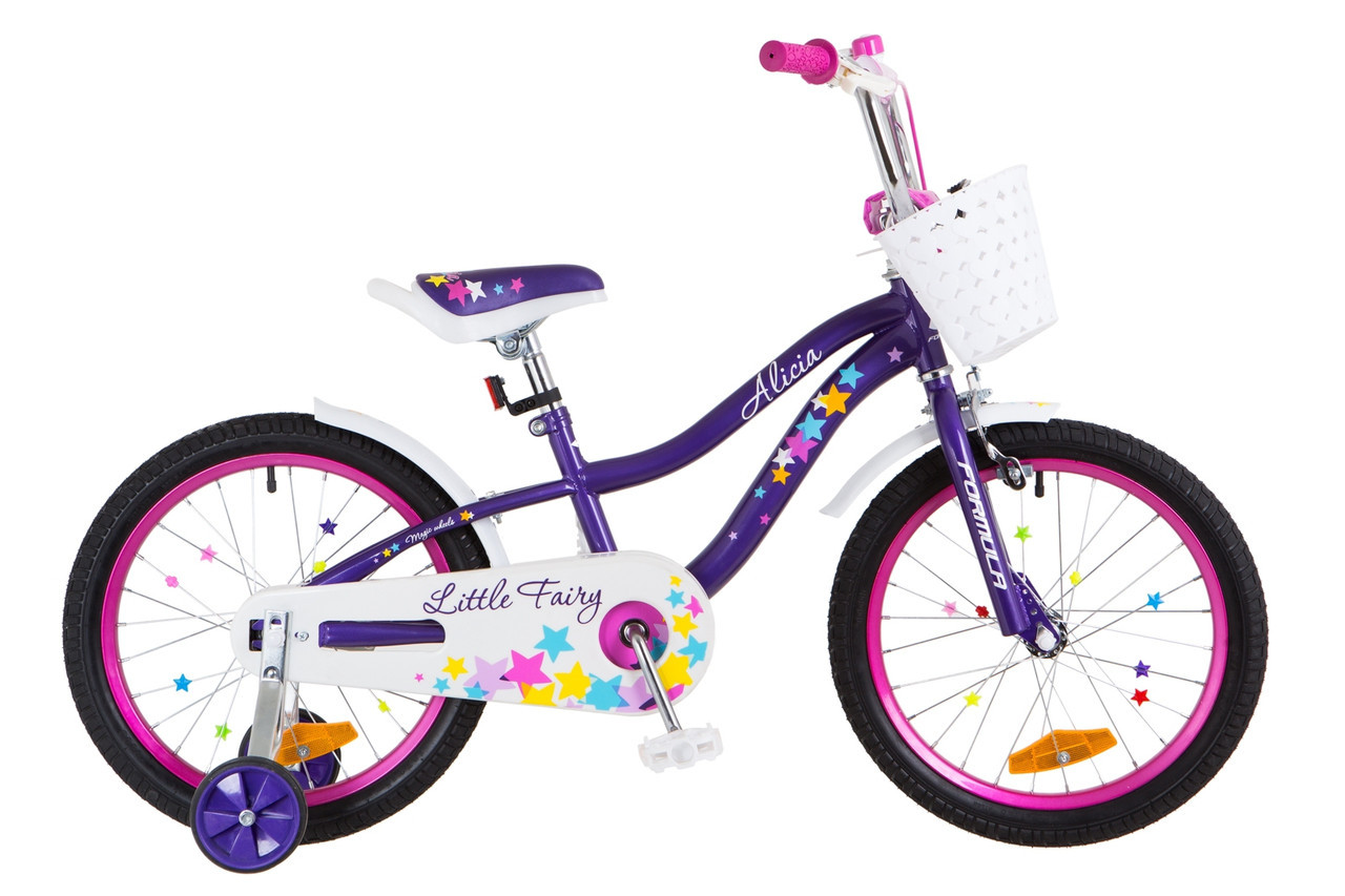 """Велосипед Formula ALICIA 18"""" фиолетовый"""