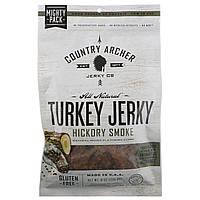 Country Archer Jerky, Натуральная вяленая индейка, пропитанная ароматом пекана, 8 унц. (226,8 г)