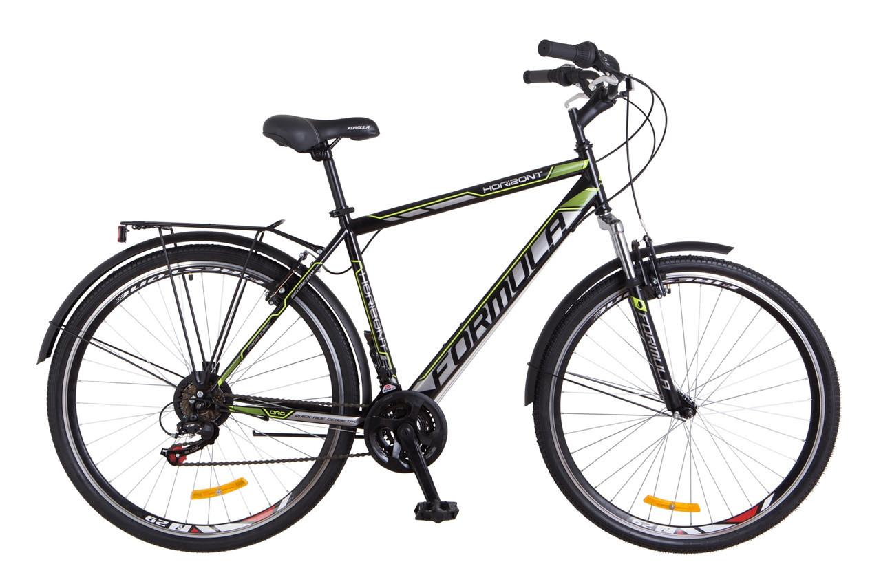 """Велосипед Formula HORIZONT 28"""" Черно-желтый"""