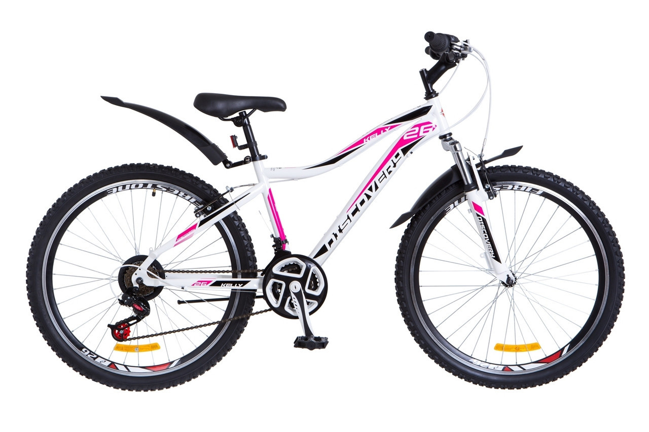 """Велосипед Discovery KELLY  26"""" Бело-черный"""