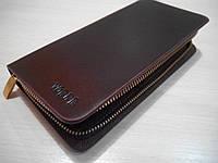 Клатч мужской Vorpe, темно-коричневый, Качественная реплика